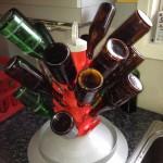 Flasktappning