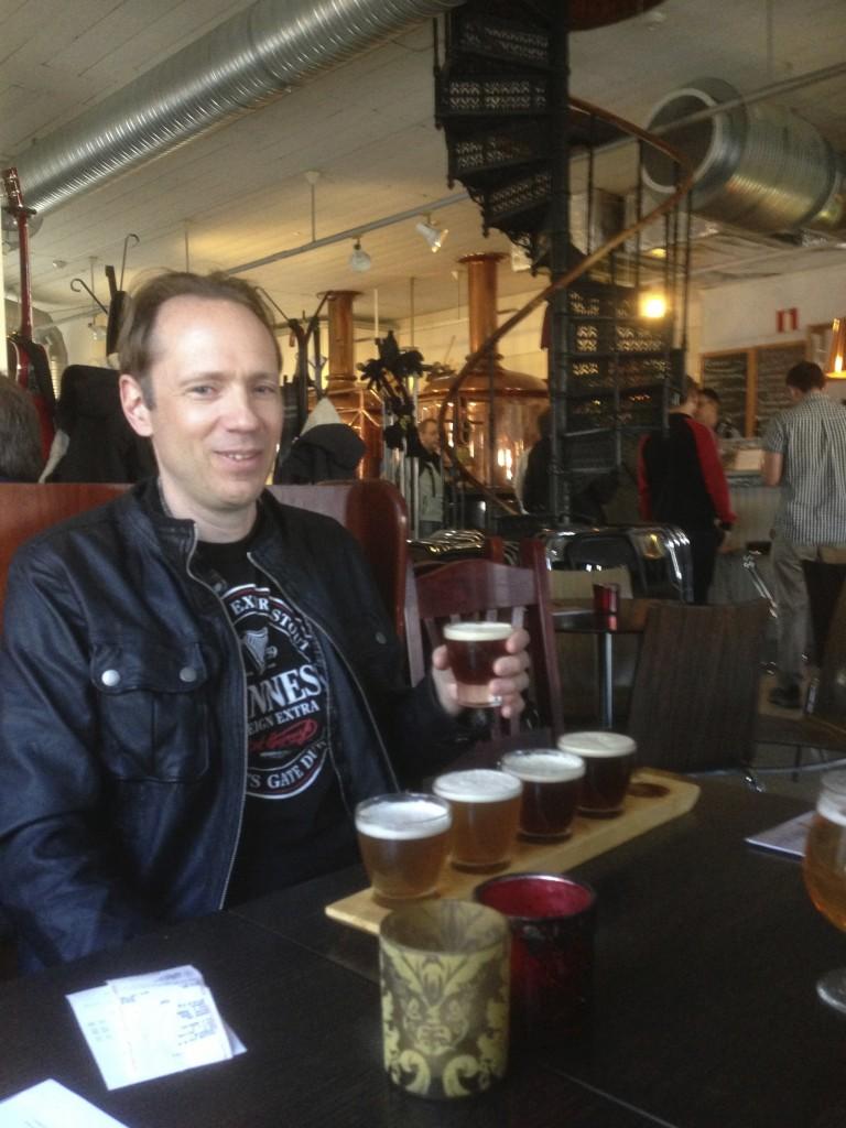 Ölprovning på Eskilstuna Ölkultur