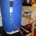Mäskning med pump för att recirkulera vörten